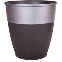 Hendrix Tall Round Planter 46cm (18in) Pewter Top