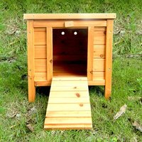 'Charles Bentley Wooden Rabbit Guinea Pig Hedghog Tortoise Box  Hutch