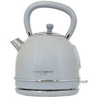 3000W 1.7 Litre Grey Dome Kettle Fast Boil 360 Swivel Base