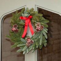 Fresh Christmas Wreath 30cm