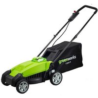 Greenworks G40LM35K2 40v 35cm Cordless Mower with battery