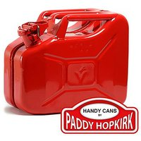 10 ltr Steel Jerry Can - Red
