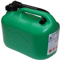 5 ltr Plastic Petrol Can -Green