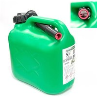 5lt Green Fuel Can c/w No Spill Spout