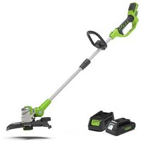 24V Deluxe String Trimmer with 2Ah Battery an