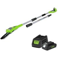 24V Polesaw with 2Ah Battery and Charger