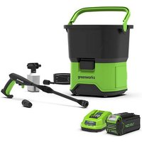 40V Cordless Pressure Washer with 4Ah Battery   charger