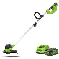 40V Front Mount Trimmer with 2Ah Battery & Ch