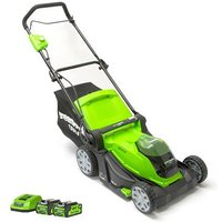 40V Walk behind Mower with Battery
