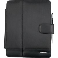 iPad Case with Chrome Tech2 Dual-Function Stylus Pen