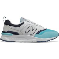 Image of Womens New Balance 997H - Newport Blue/Natural Indigo, Newport Blue/Natural Indigo