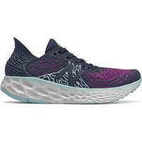 Image of Womens New Balance Fresh Foam 1080v10 - Natural Indigo/Plum/Bali Blue, Natural Indigo/Plum/Bali Blue