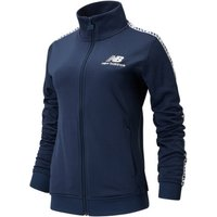 Image of Womens New Balance Essentials Icon Track Jacket - Natural Indigo, Natural Indigo