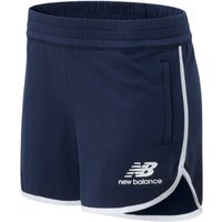 Image of Womens New Balance Essentials Icon Short - Natural Indigo, Natural Indigo