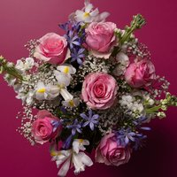 Scented Meadow Bouquet White
