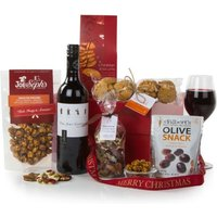 John Lewis Red Wine and Nibbles Gift Box