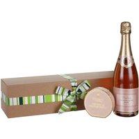 Waitrose Pink Champagne & Truffles Gift Set
