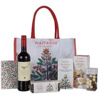 Waitrose Christmas Robin Gift Bag