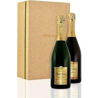 Rene Jolly Brut & Rosé Champagne Gift Box