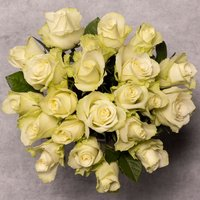 Foundation White Roses Bouquet White