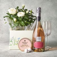Celebration Rose Gift Set White