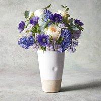 Roses & British Tulips Vase Vibrant