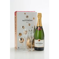 Taittinger Champagne & Glasses Set