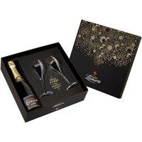 Lanson Champagne & Glasses Set