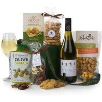 John Lewis White Wine & Nibbles Gift Box