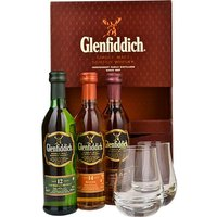 Glenfiddich Whiskies & Tumbler Gift Set