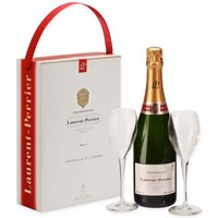 Laurent Perrier Champagne & Glasses