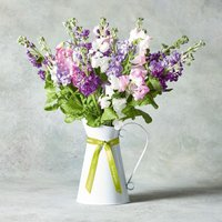 Scented Sweet Peas & Stocks Jug Pastel