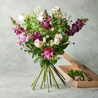 Bright Summer Days Scented Bouquet Pink