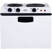 Baby Belling Electric Cooker Sealed Plate Hob White