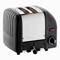 Buy 2-Slice Toaster Hi Lift Polished Black - Electrical Discount UK