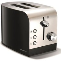 Buy 2-Slice 2-Slot Toaster Hi-Lift Stainless Steel & Black - Electrical Discount UK