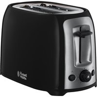 Buy 2 Slice Toaster Reheat Setting Black - Electrical Discount UK