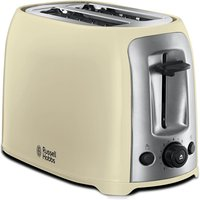 2 Slice Toaster Reheat Setting Cream