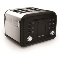 Buy 4-Slice 4-Slot Toaster Black - Electrical Discount UK