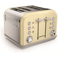 Buy 4-Slice 4-Slot Toaster Cream - Electrical Discount UK