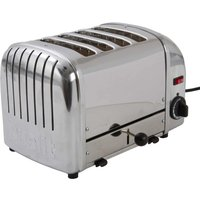 Buy 4-Slice Toaster Hi Lift Stainless Steel - Electrical Discount UK