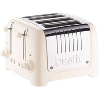 Buy 4-Slice Toaster Bagel Button S/Steel/Cream - Electrical Discount UK