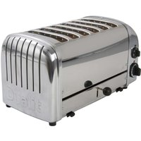 Buy 6-Slice Toaster Hi Lift Stainless Steel - Electrical Discount UK