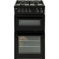 500mm Twin Cavity Gas Cooker FSD Black