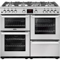 1000mm Gas Range Cooker 7 Burners Inc WOK S/Steel