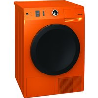 8kg Load Heat Pump Dryer 15 Programs Class A   Orange