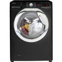 1600rpm Washing Machine 7kg Load Class A+++ Black