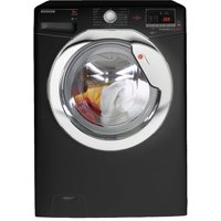 1600rpm Washing Machine 8kg Load Class A+++ Black