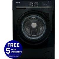1400rpm 7kg Washing Machine Class A++ Black