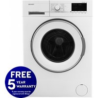 1600rpm 7kg Washing Machine Class A++ White